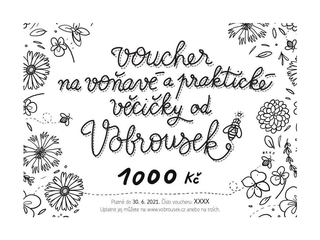 Dárkový voucher - VOBROUSEK