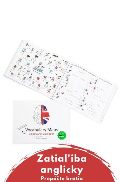 Vocabulary maps - Tlačený  + Audio kniha zadarmo