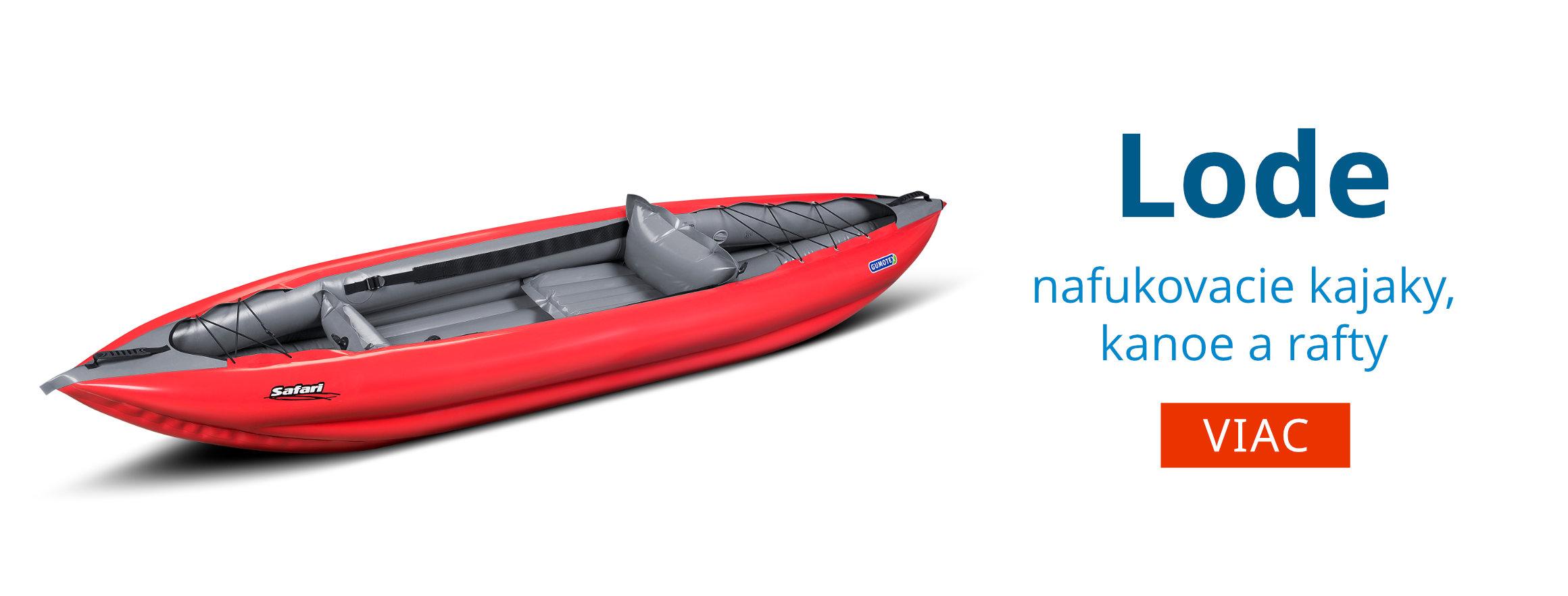 Nafukovacie kanoe, rafty a kajaky