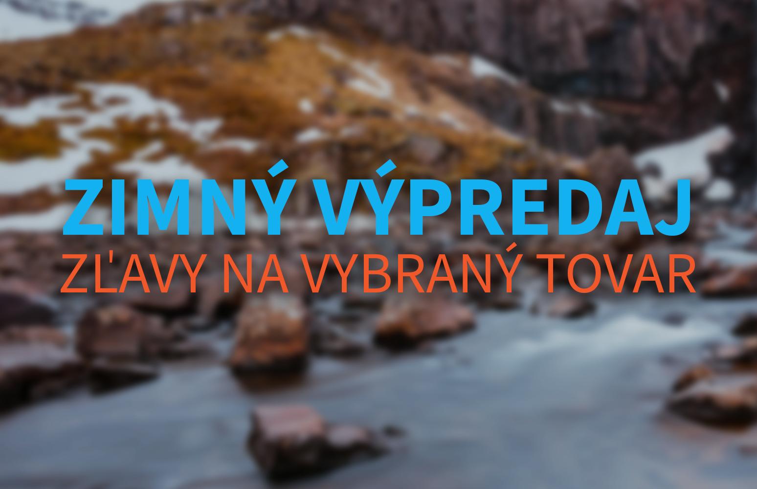 Zimný výpredaj na Vodáci.sk