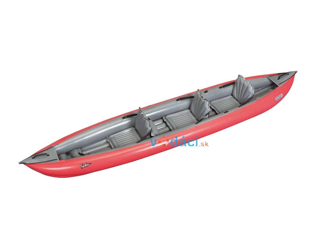 Gumotex Solar 410 C trojmiestna verzia  + transportný vak + smerová plutva