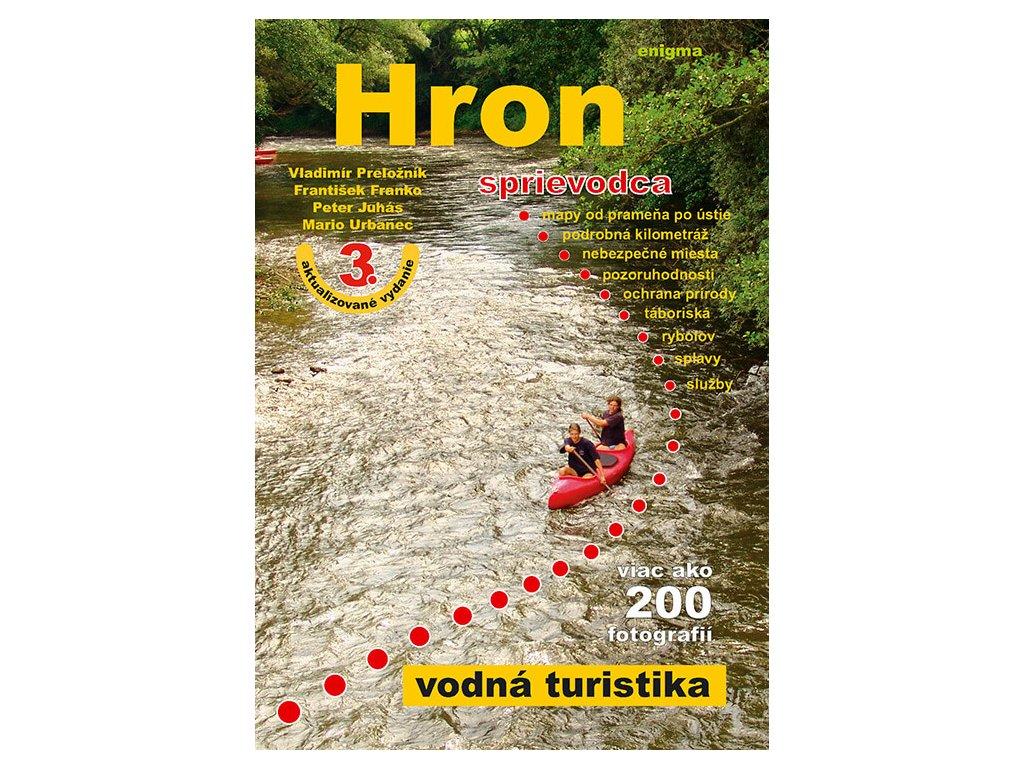 Vodácky sprievodca riekou Hron + DVD