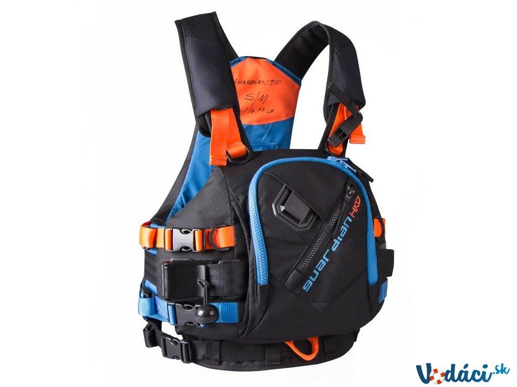 hiko guardian 3D moderna plavacia vesta