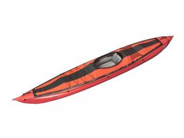 Gumotex Seawave kokpit