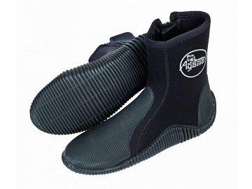 Vysoké neoprénové topánky Agama Stream 5 mm