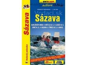 Vodácky sprievodca riekou Sázava
