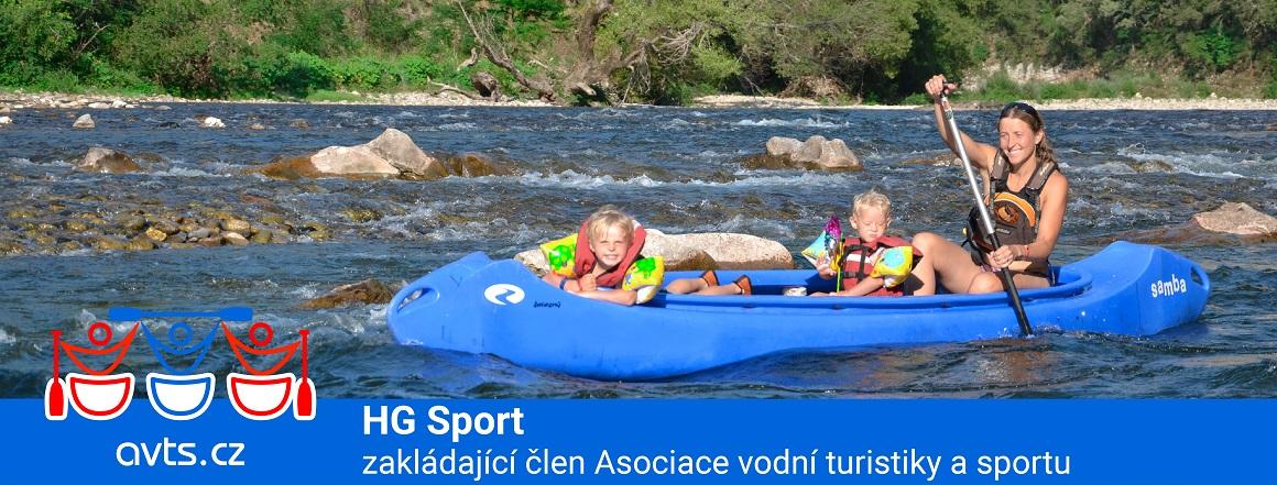 HG Sport zakládajícím členem Asociace vodní turistiky a sportu