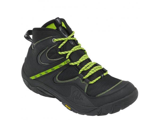 12138 Gradient boots Black front 3