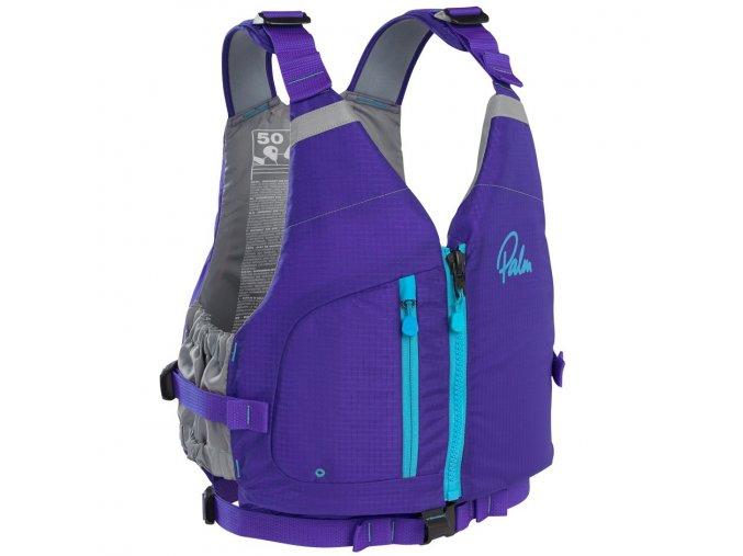 11458 Meander womensPFD Purple front 3