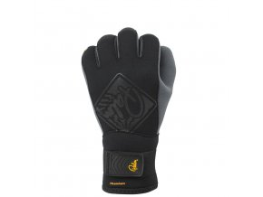 10499 Hook gloves Black front