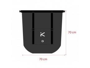 Vodotěsná taška Hiko Aviator 70L