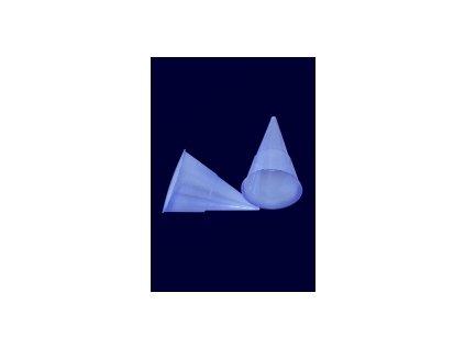 Kelímek konický modrý 115 ml