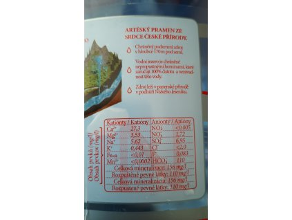 Pramenitá voda AQUA ANNA 1,5l