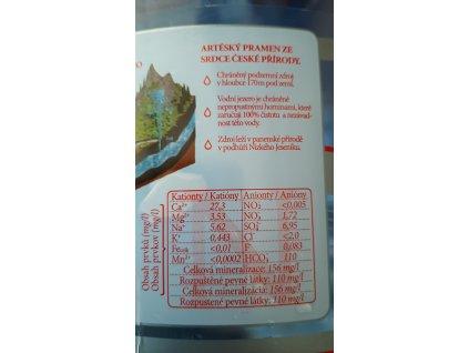 Jemně perlivá voda AQUA ANNA 1,5l