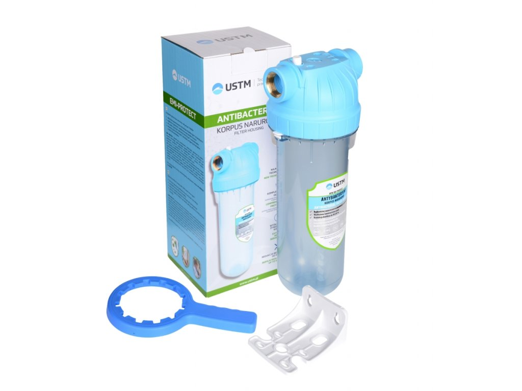 """Vodný filter 10"""" pre domácnosti - antibakteriálny"""