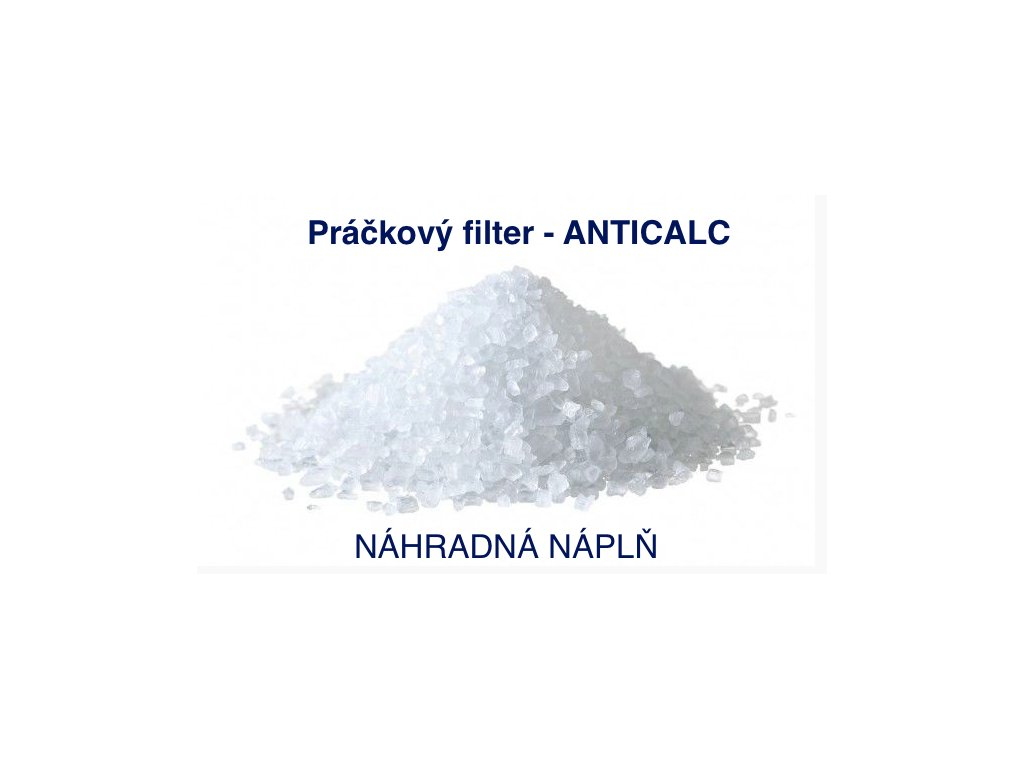 Práčkový filter na úpravu tvrdej vody náhradná náplň