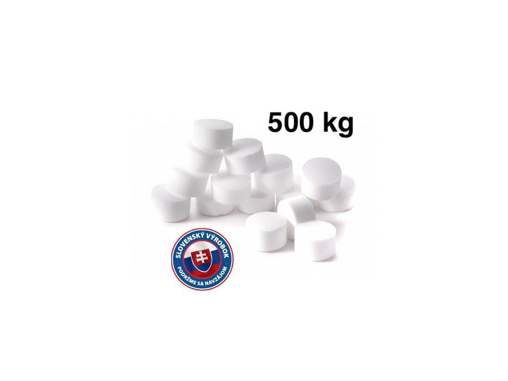 Slovenská tabletovaná soľ 500kg
