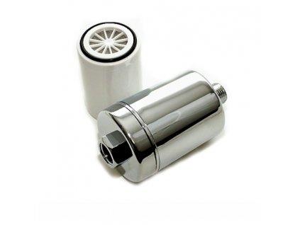 Sprchový filter s filtračnou náplňou