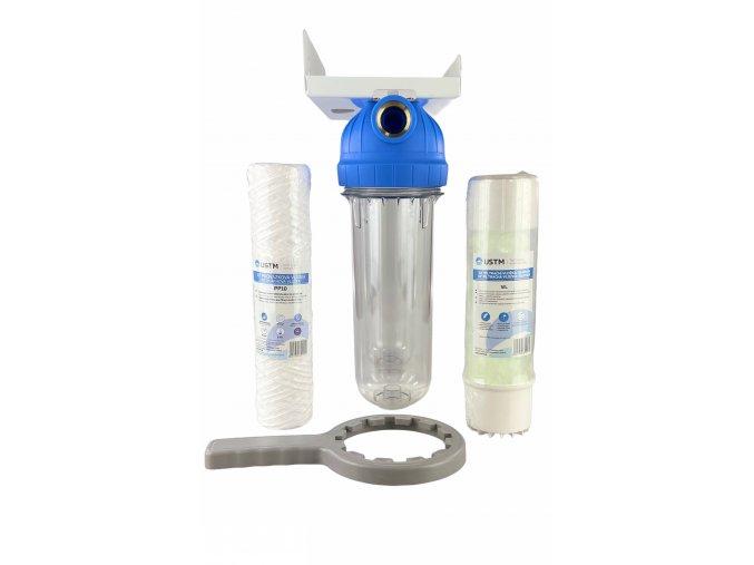 """Dvojitý vodný filter (Veľkosť 10"""", pripojenie 1"""")"""