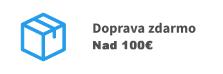 Doprava nad 100€ zdarmo
