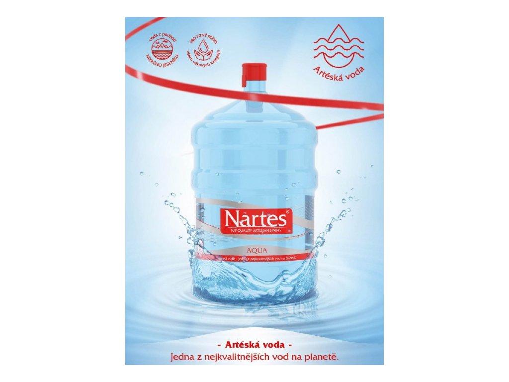 pramenita voda nartes 18 9l v barelu original
