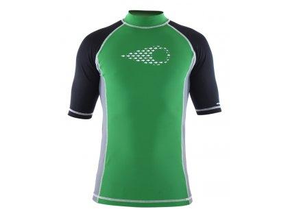 Lycrové tričko Wings zelené