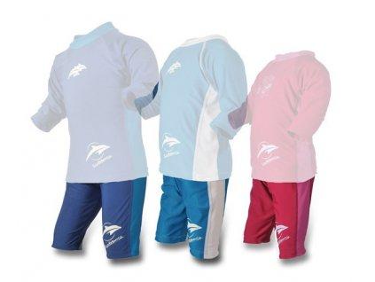 Konfidence UV krátke nohavice modré