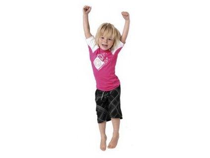 MYSTIC detské lycrové tričko Star Pink