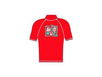 SOORUZ detské lycrové tričko červené