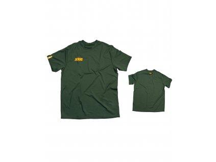 JOBE pánske tričko Impress zelené