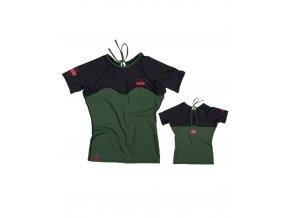 Dámske lycrové tričko Impress zelené