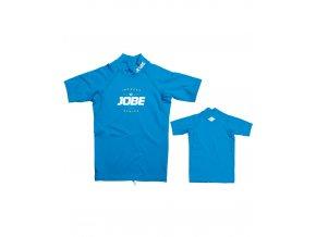 JOBE detské lycrové tričko Rebel modré