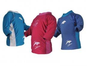 Konfidence detské lycrové tričko UV ružové