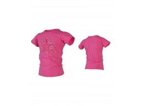 JOBE detské lycrové tričko ružové