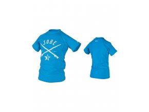 JOBE detské UV tričko modré