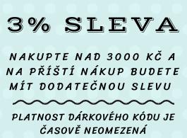 DODATEČNÁ SLEVA 3%