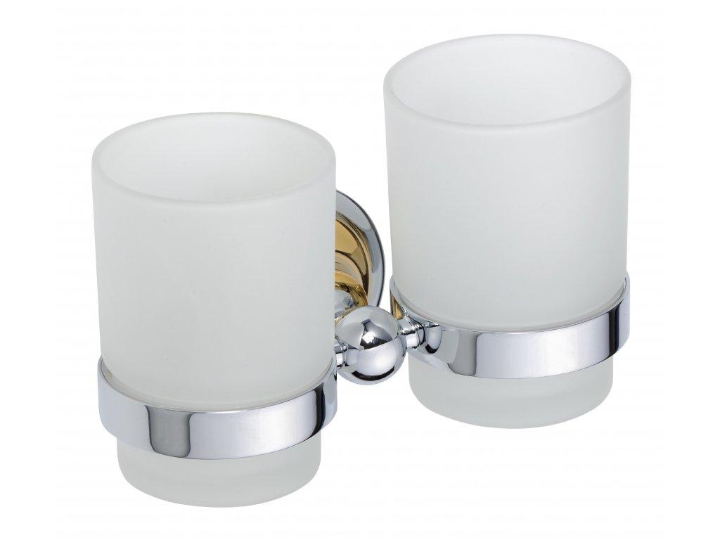 Bemeta Držák sklenice dvojitý Retro 144210028