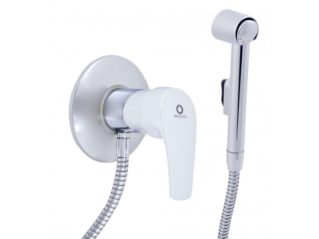 RAV Slezák Baterie bidetová vestavěná se sprchou KONGO K047