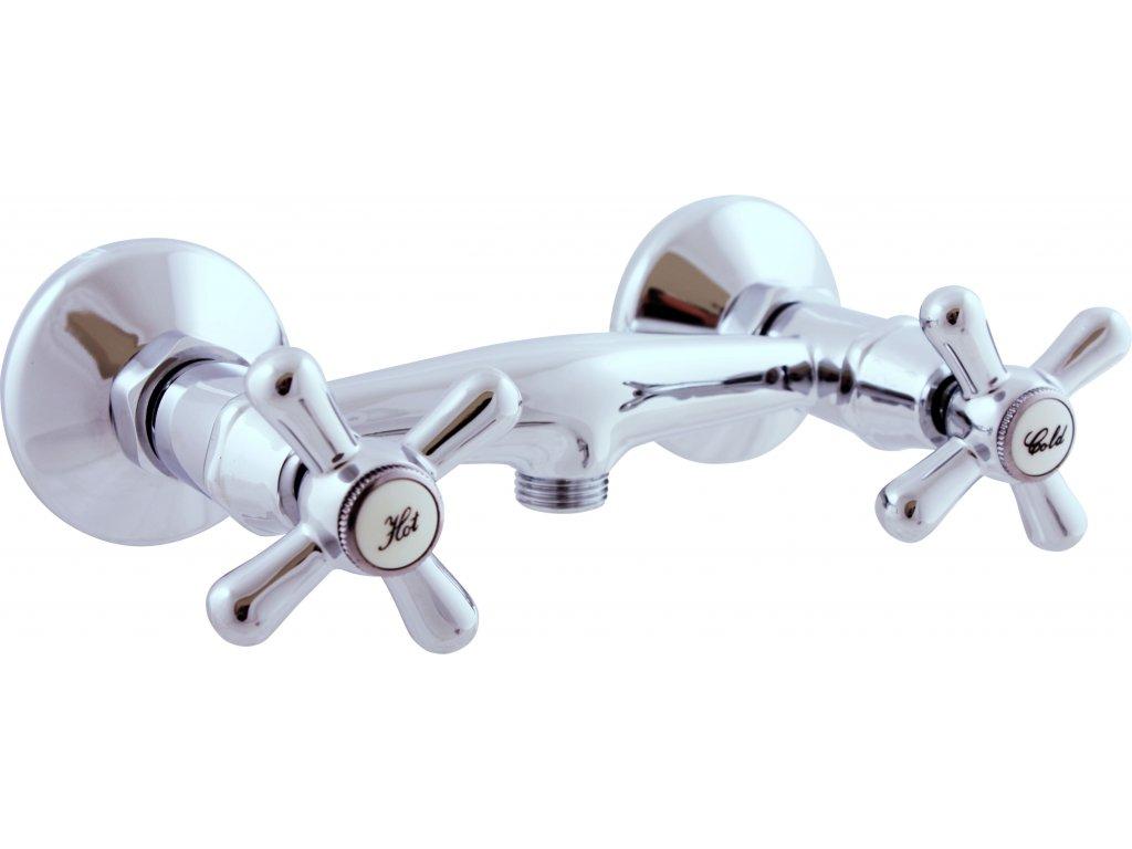 558941717Baterie sprchová nástěnná MORAVA MK180.0 (100 mm)