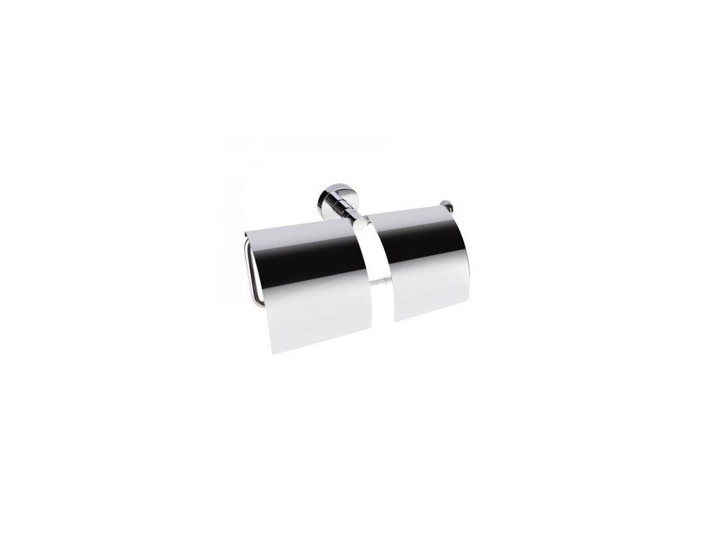 Bemeta Držák toaletního papíru dvojitý s krytem Omega 104112092