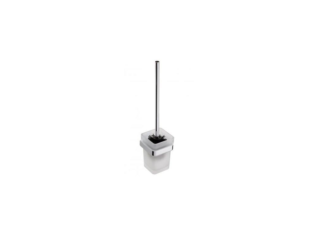 Bemeta WC štětka se skleněnou miskou Via 135013012