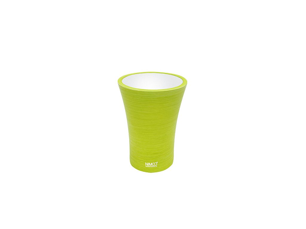 NIMCO pohárek žlutozelený