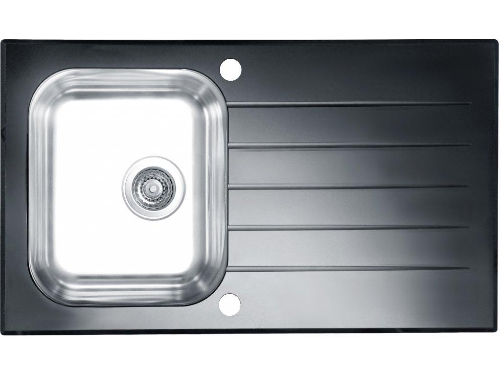 ALVEUS Dřez GLASSIX 10 (sklo)