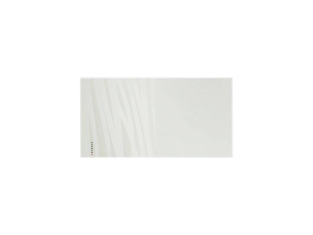 Bílá skleněná krájecí deska 629059