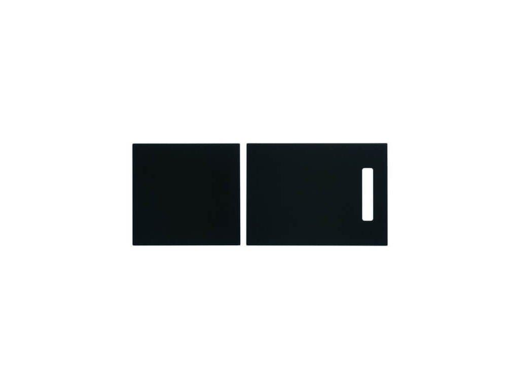 Černá krájecí deska 629064 + 629075
