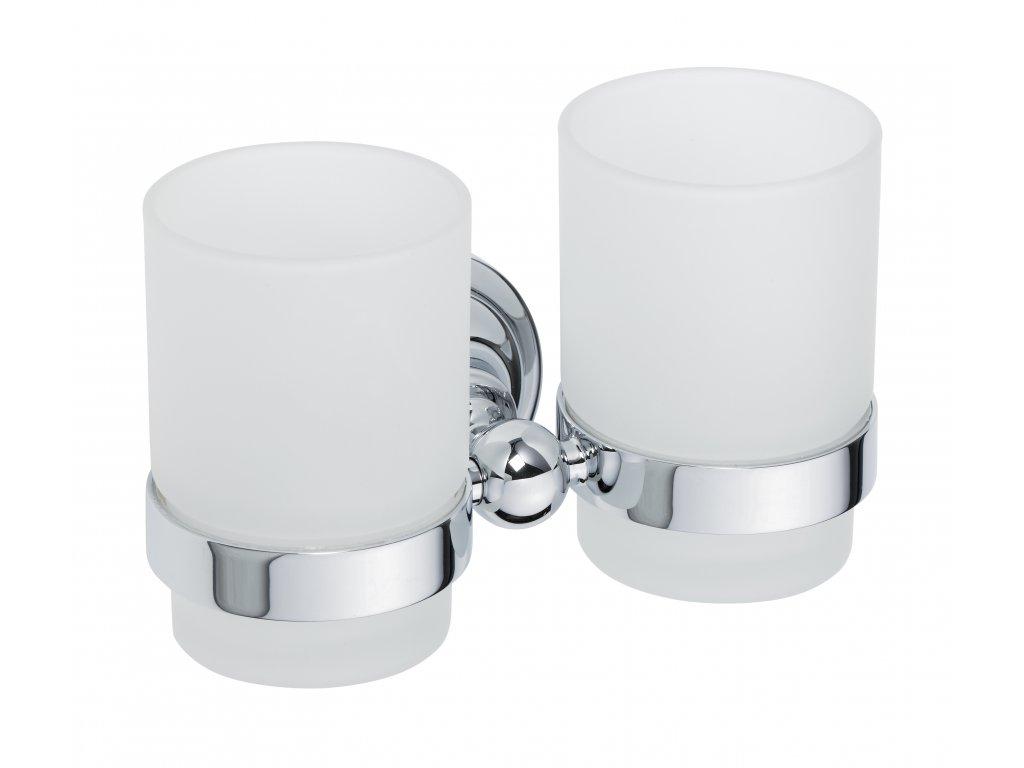 Bemeta Držák sklenice dvojitý Retro 144310022