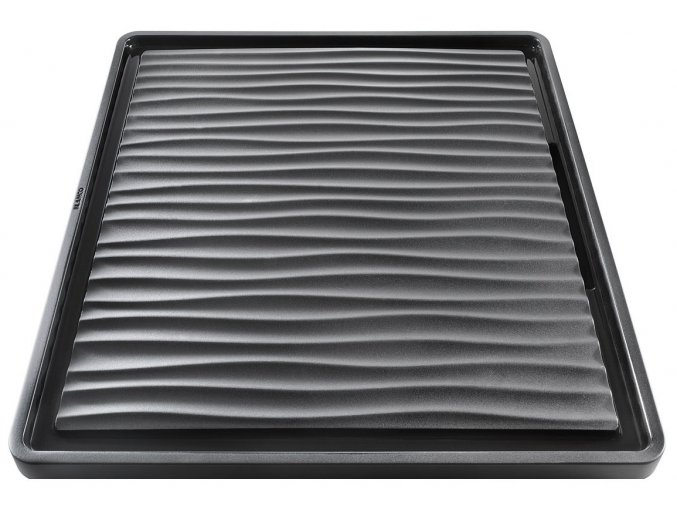 Blanco odkapávací deska vlnitá plast šedo-černý