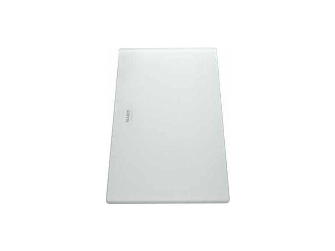 Blanco krájecí deska z hladkého bílého skla k Zerox 400 x 200