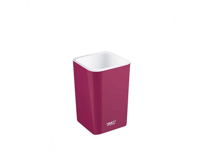 NIMCO pohárek burgundská fialová