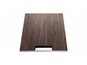 Blanco krájecí deska z ořechového dřeva s nerezovým držadlem pro Zerox, Claron